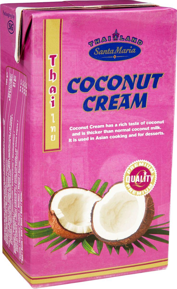 Santa Maria Густые кокосовые сливки, 1 л