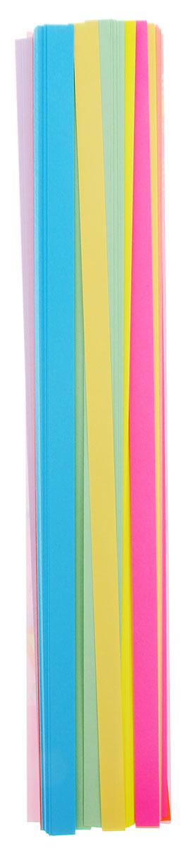 Апплика Бумага для квиллинга 320 шт 8 цветовС2330-01Бумага для квиллинга Апплика - это порезанные специальным образом полоски бумаги определенной плотности. Такая бумага пластична, не расслаивается, легко и равномерно закручивается в спираль, благодаря чему готовым спиралям легче придать форму. В упаковке 320 полосок бумаги 8 разных цветов. Квиллинг (бумагокручение) - техника изготовления плоских или объемных композиций из скрученных в спиральки длинных и узких полосок бумаги. Из бумажных спиралей создаются необычные цветы и красивые витиеватые узоры, которые в дальнейшем можно использовать для украшения открыток, альбомов, подарочных упаковок, рамок для фотографий и даже для создания оригинальных бижутерий. Это простой и очень красивый вид рукоделия, не требующий больших затрат.