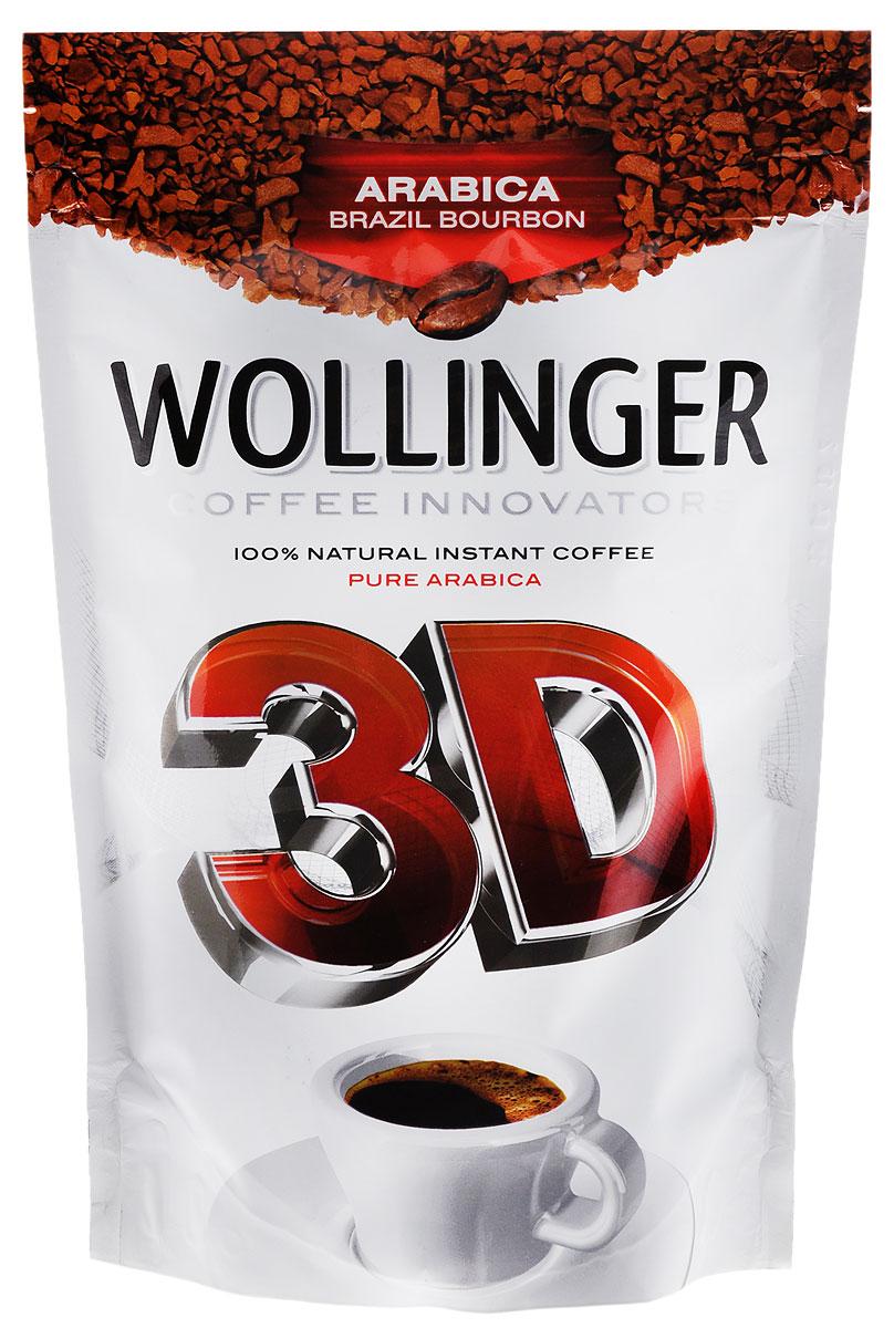 Wollinger 3D кофе растворимый, 150 г4630007984759Wollinger 3D - кофе высшего качества категории VG QUALITY класса UNQ — Unusual Good Quality сорт Arabica Brazil Bourbon. Выращен на плантациях фабрики Cacique de Cafe Soluvel в городе Лондрина, штат Парана, Бразилия. Обладает сбалансированным и очень богатым вкусом. Откройте новое измерение вкуса и аромата Wolinger 3D.