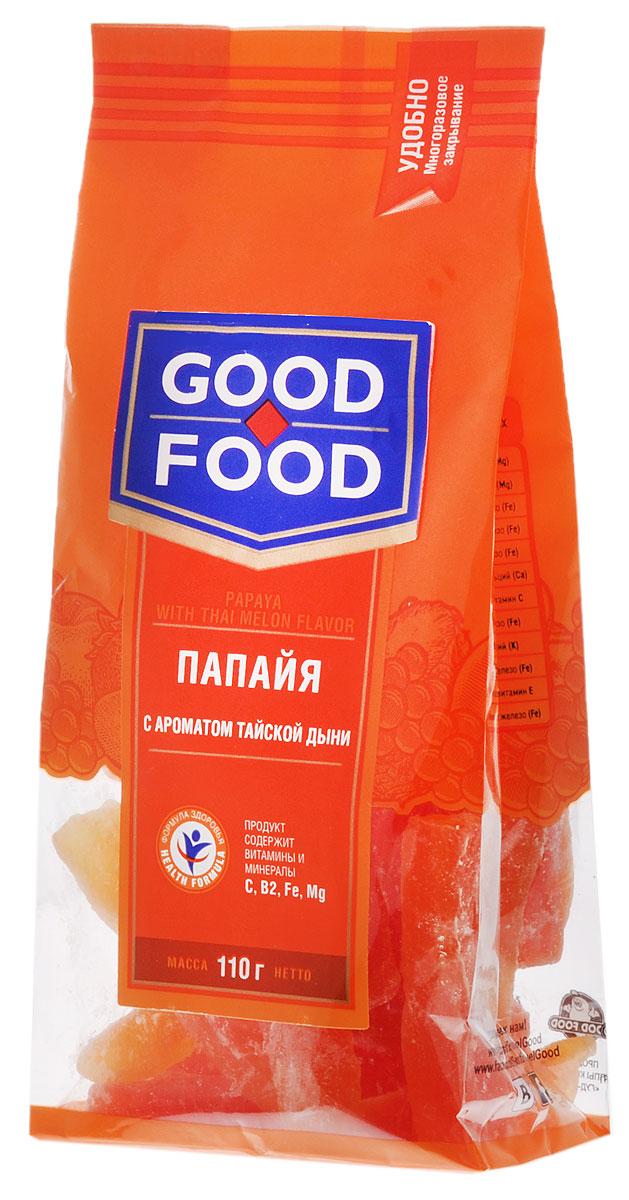 Good Food папайя с ароматом тайской дыни, 110 г