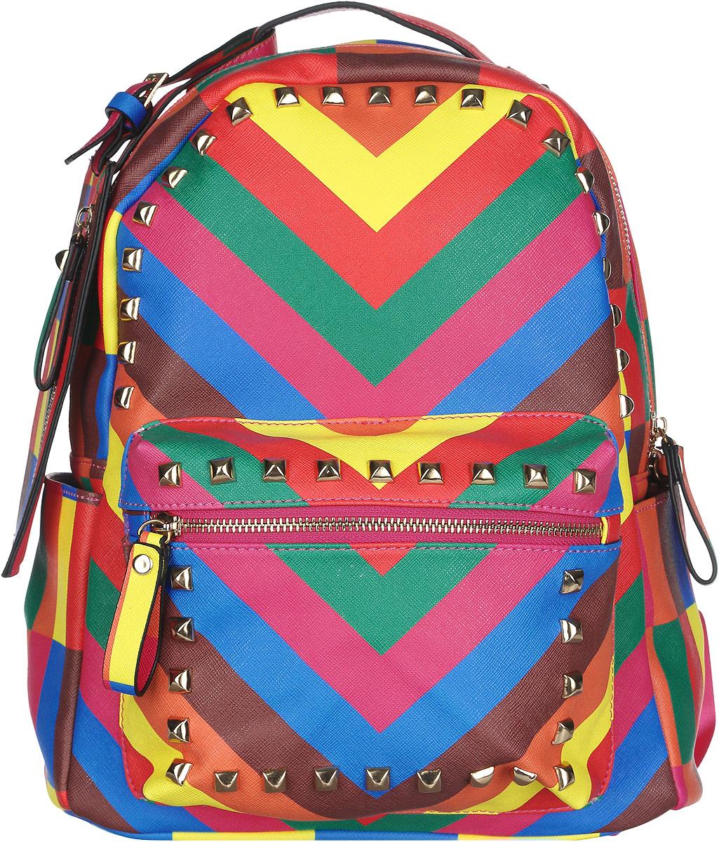 Рюкзак женский Flioraj, цвет: мультиколор. 00051370