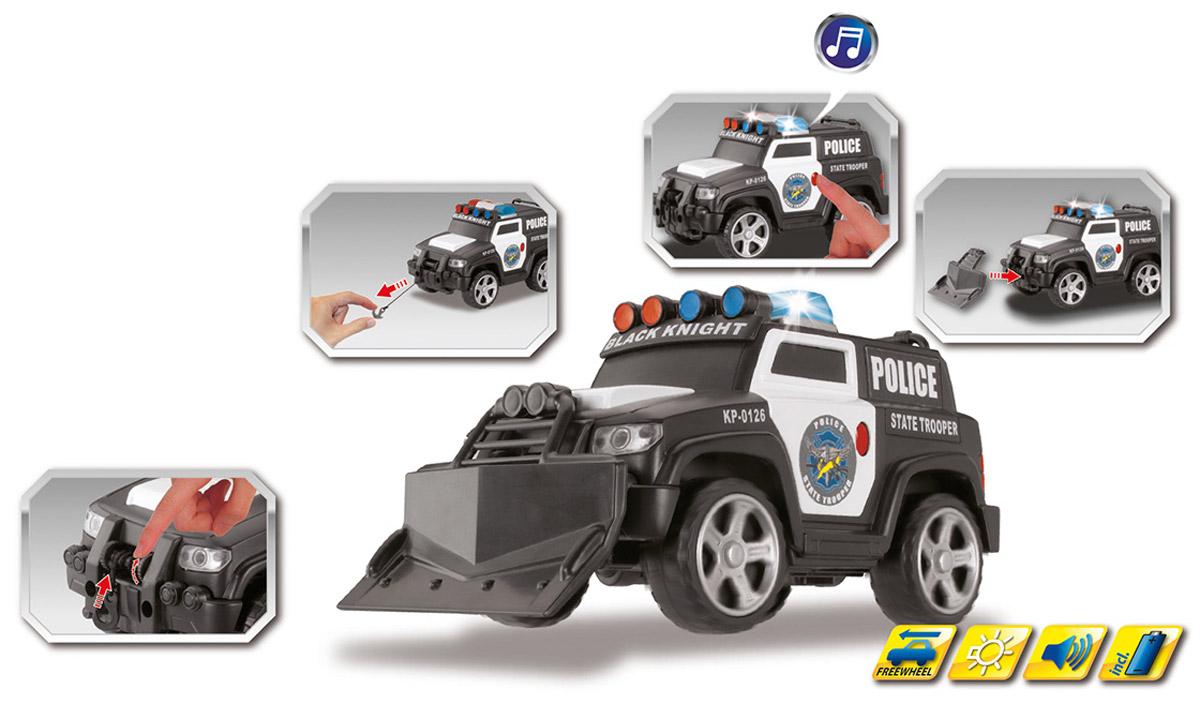 Dickie Toys Полицейский броневик