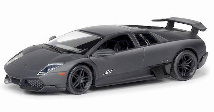 Uni-Fortune Toys Модель автомобиля Lamborghini Murcielago LP670-4 цвет серый554997MМашина металлическая 1:32 Lamborghini Murcielago LP670-4 , инерционная, серый матовый цвет, 16.5 x 7.5 x 7 см — одна из наиболее актуальных моделей, которая за счет безупречного качества сборки и интересного дизайна пользуется хорошим спросом.