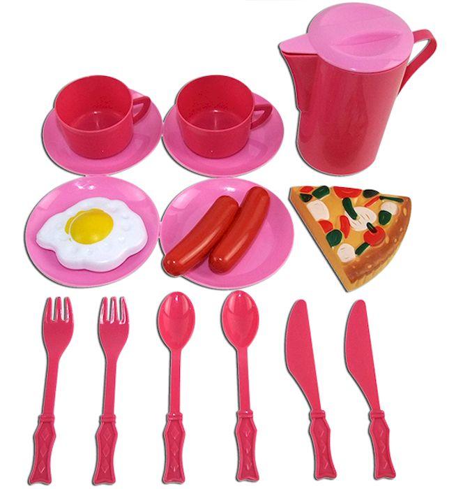 ABtoys Игрушечный кухонный набор 16 предметов ( PT-00328 )