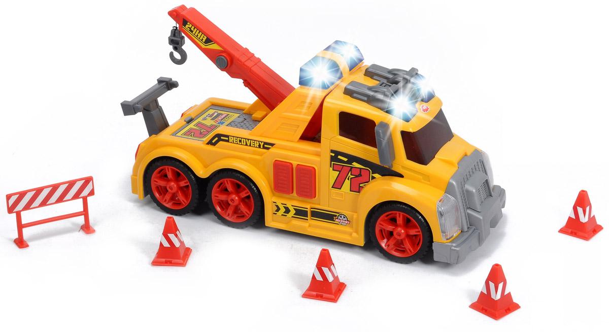 Dickie Toys Эвакуатор цвет желтый
