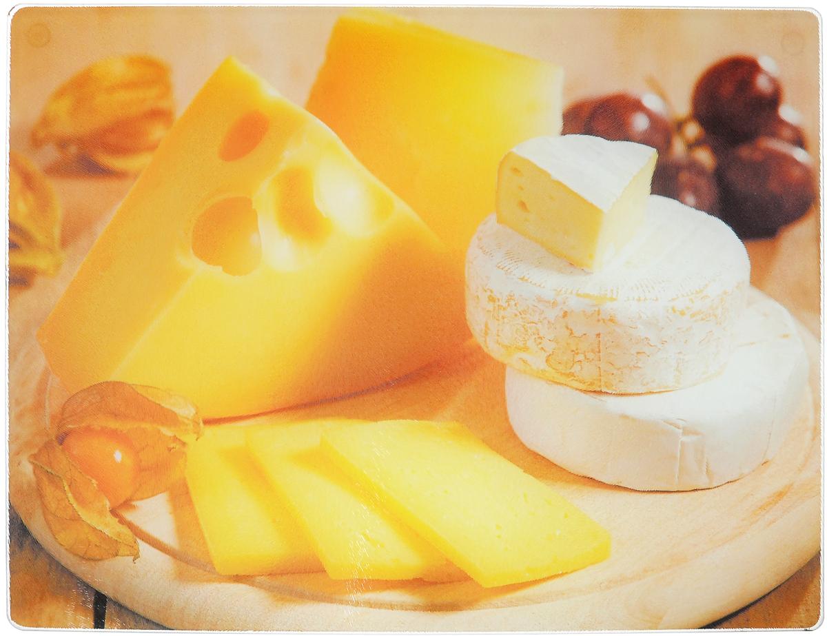 Доска разделочная Mayer & Boch Сыр, 40 х 30 см23300-5Разделочная доска Mayer & Boch Сыр, выполненная из высококачественного стекла, устойчива к повреждениям и не впитывает запахи. Она идеально подходит для разделки мяса, рыбы, приготовления теста и для нарезки любых продуктов. Гладкая поверхность предотвратит появление разводов, царапин и появление бактерий. Разделочная доска Mayer & Boch Сыр станет незаменимым аксессуаром на любой кухне. Размер доски: 40 х 30 см.
