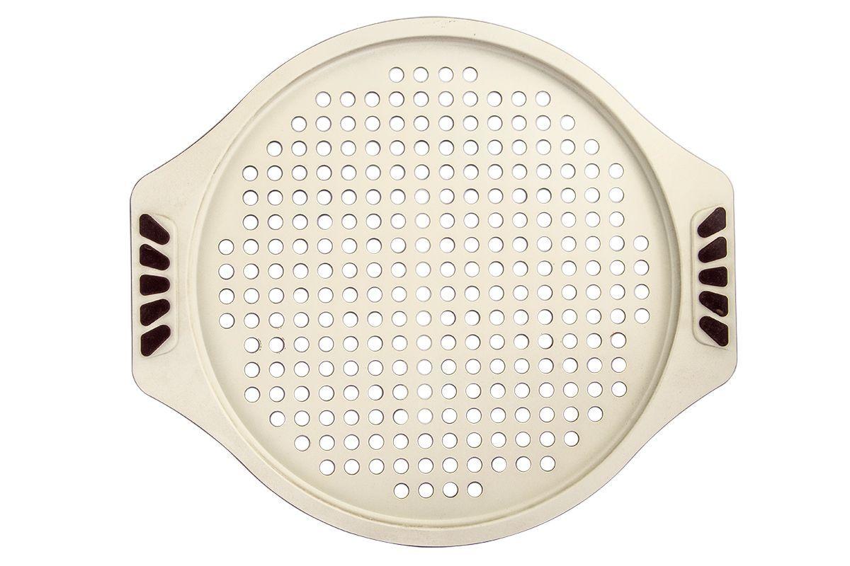Форма для запекания Pomi d'Oro Milano, с керамическим покрытием, круглая, 33 см77.858@20089 / Q3323 MilanoФорма для запекания Pomi dOro, модель Q3323, коллекция Milano. Размер 33 см, бежевое керамическое покрытие Kerano™ внутри, внешняя поверхность - суперпрочное и износостойкое покрытие цвета бургунди. Ручки c силиконовыми вставками. Штамп по специальной пресс-форме с толщиной боковых стенок - 2-3 мм, верхний кант развальцован.