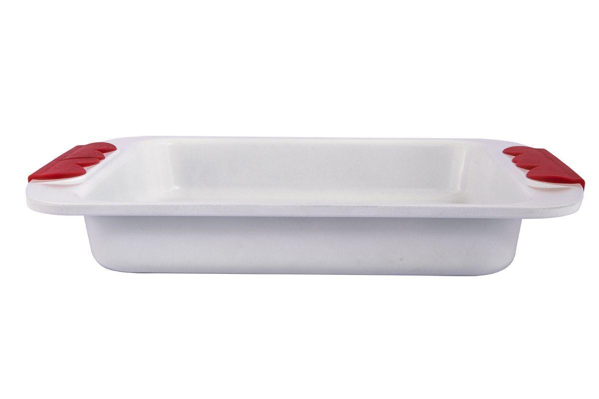 Форма для запекания Pomi d'Oro Roma, с керамическим покрытием, 20 см77.858@21201 / Q2005 Romaформа для запекания Pomi dOro, модель Q2005, коллекция Roma;- размер 20 см, белое упрочненное и износостойкое керамическое покрытие Kerano™ внутри и снаружи;- ручки c красными силиконовыми вставками;- штамп по специальной пресс-форме с толщиной боковых стенок - 2-3 мм, верхний кант завальцован;