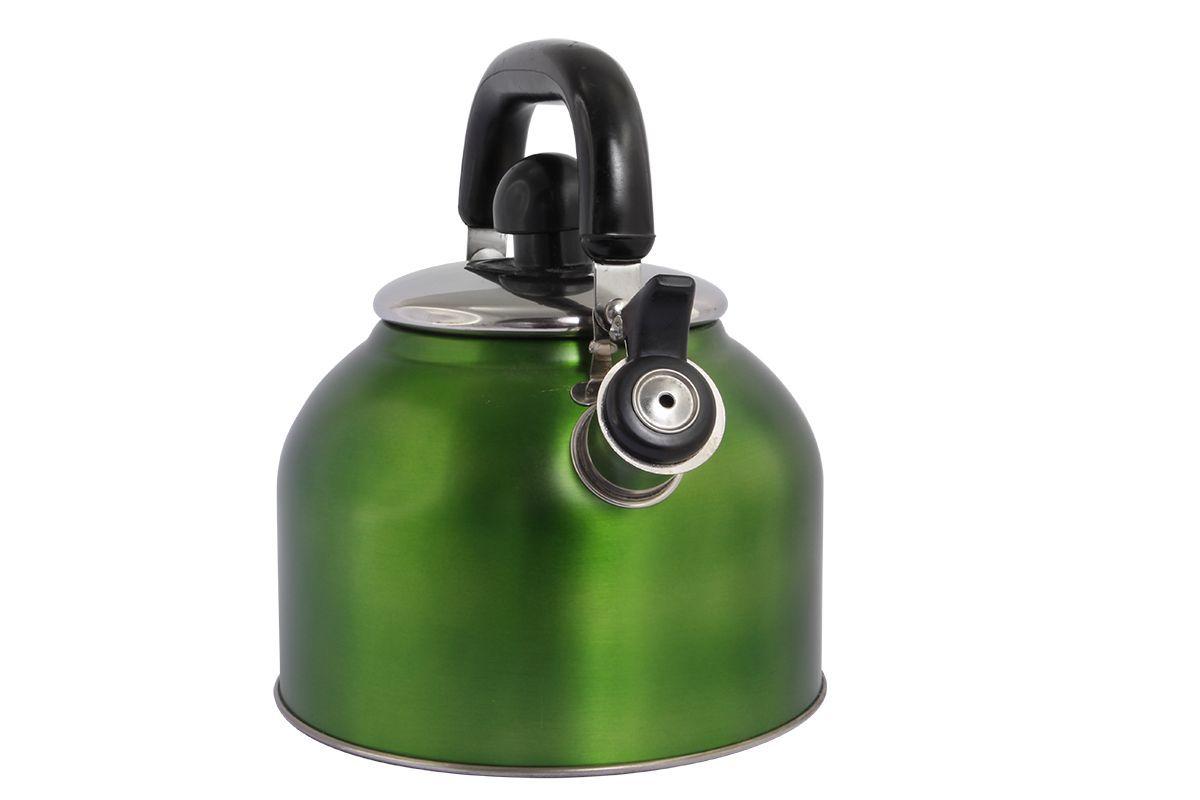 Чайник Pomi d'Oro Napoli, со свистком, 3 л77.858@23364 / R3009 NapoliЧайник неэлектрический со свистком Pomi dOro, модель R3009, коллекция Napoli. Нержавеющая сталь, толщина стенки 0,4 мм, дна - 0,6 мм, ненагревающаяся бакелитовая ручка. Объем 3 литра. Дно, выполненное по технологии капсулирования, служит для равномерного распределения тепла. Подходит для всех типов плит, кроме индукционных. Чайник имеет традиционный дизайн и яркое внешнее покрытие