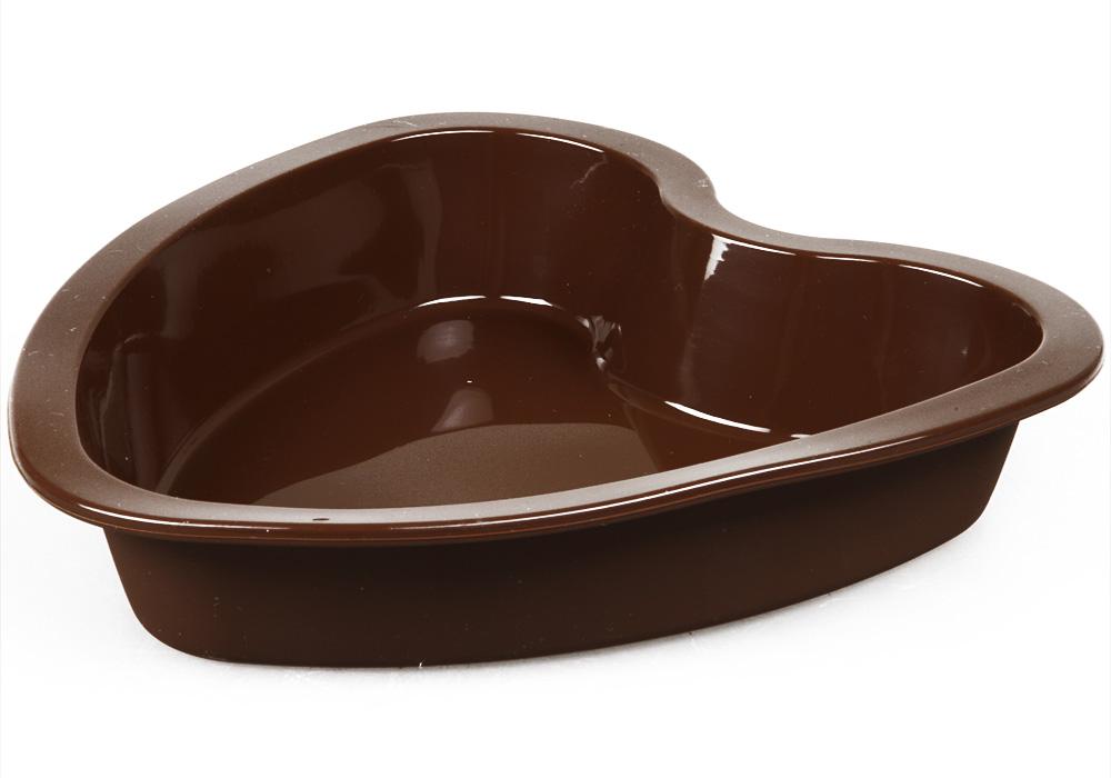Форма для запекания Pomi d'Oro Cioccolata, 22 см77.858@23433 / Q2101 (60) CioccolataФорма для запекания Pomi dOro, 21 см, силиконовая Сердце, модель Q2101, коллекция Cioccolata.Форма для выпечки изготовлена из специального силиконового материала. Выдерживает температуру от -40C до +230С, не впитывает запахи и легко моется, обладает антипригарными свойствами. Выпечка в такой форме не пригорит и будет извлекаться легко. Может использваться не только во всех видах духовых шкафов, но и в микроволновой печи и даже в морозилке.Силиконовая форма замечательно подойдет для выпечки и приготовления всех стандартных блюд в духовке.Размер: 21х20х4 см.