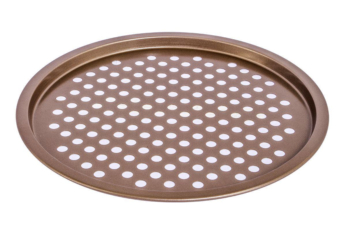 Форма для запекания Pomi d'Oro Spumante, с антипригарным покрытием, 28 см77.858@23653 / Q2802 SpumanteФорма для запекания Pomi dOro, модель Q2802, коллекция Spumante. Размер 28 см, антипригарное покрытие цвета шампань внутри и снаружи. Штамп по специальной пресс-форме с толщиной боковых стенок - 0,5 мм, верхний кант завальцован.