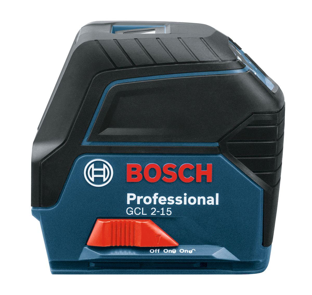 Лазерный нивелир Bosch GCL 2-15, с держателем RM1. 0601066E000601066E00Преимущества продукта Лазерные линии с четкой видимостью – для быстрого вертикального и горизонтального выравнивания Удлиненная проекция вертикальной линии – для расширенных возможностей применения Простая и понятная клавиатура для выбора режима работы – для удобства эксплуатации RM 1 совместим с потолочным зажимом – для работы с каркасом подвесного потолка Съемный держатель RM 1 с поворотной площадкой - для легкого ручного позиционирования лазерных линий вокруг точки отвеса Кнопка Вкл/Выкл с блокировкой маятника – для безопасной транспортировки и работы в режиме наклона Технические характеристики Диапазон измерения 15 м Рабочий диапазон точек отвеса 10 м (вверх и вниз) Класс лазера: 2 Точность измерения, стандарт. +/- 0,3 мм/м Элементы питания 3 x 1.5 V (AA) Класс защиты IP54 Рабочий температурный диапазон -20°C…+70°C Комплектация: Чехол на липучке Держатель RM1 Батарейки Мишень