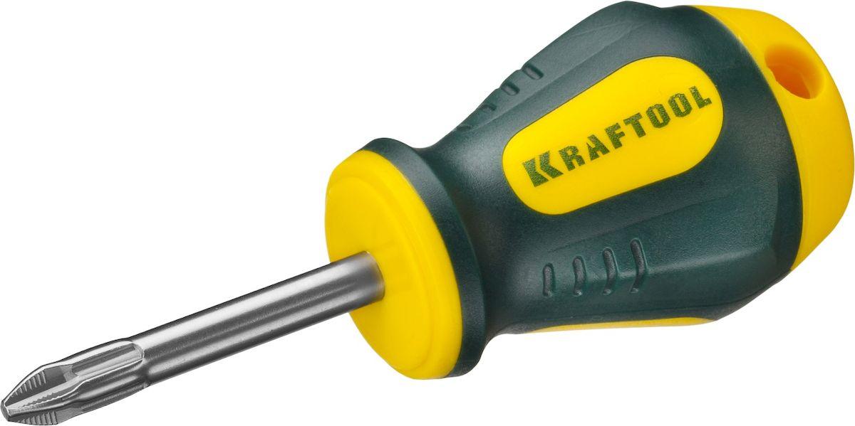 Отвертка Kraftool Expert, PH, №2x38мм250072-2-038Отвертка KRAFTOOL EXPERT, Cr-Mo-V сталь, двухкомпонентная противоскользящая рукоятка, PH, №2x38мм