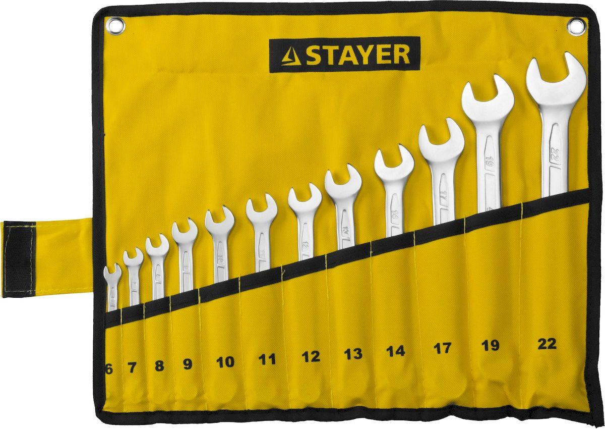 Набор комбинированных гаечных ключей Stayer
