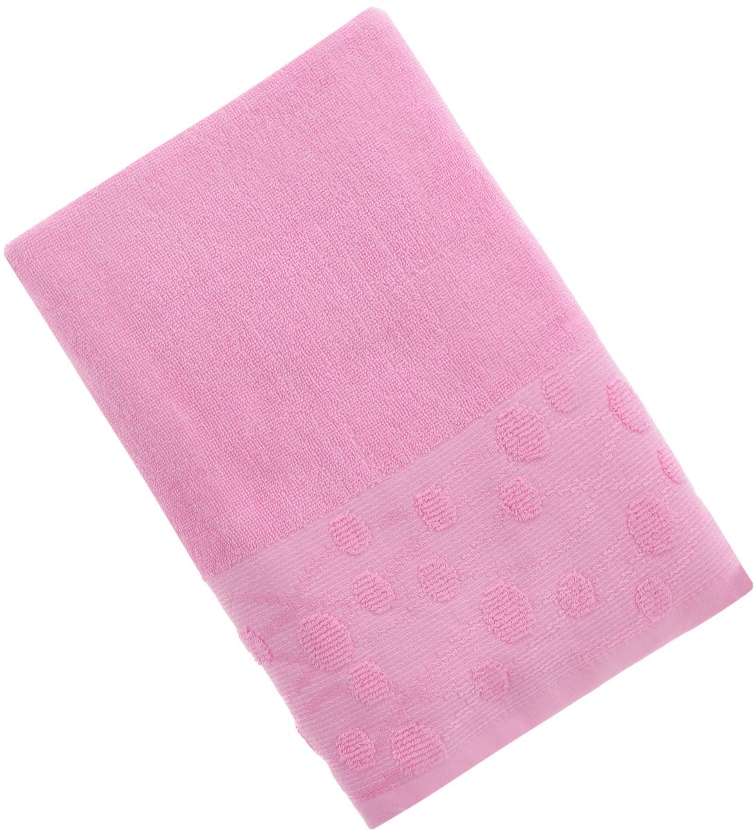 Полотенце Arya Punto, цвет: розовый, 70 х 140 смF0003448_розовыйПолотенце Arya Punto выполнено из 100% хлопка. Изделие отлично впитывает влагу, быстро сохнет, сохраняет яркость цвета и не теряет форму даже после многократных стирок. Такое полотенце очень практично и неприхотливо в уходе. Оно создаст прекрасное настроение и украсит интерьер в ванной комнате.