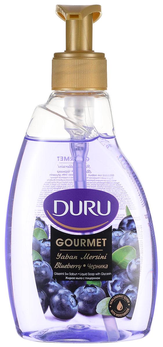 Duruу GOURMET Мыло жидкое Черничное парфе 300мл800297904Современное средство гигиены и ухода за кожей с увлажняющим действием глицерина. Отличается приятным фруктовым ароматом и нежной текстурой.