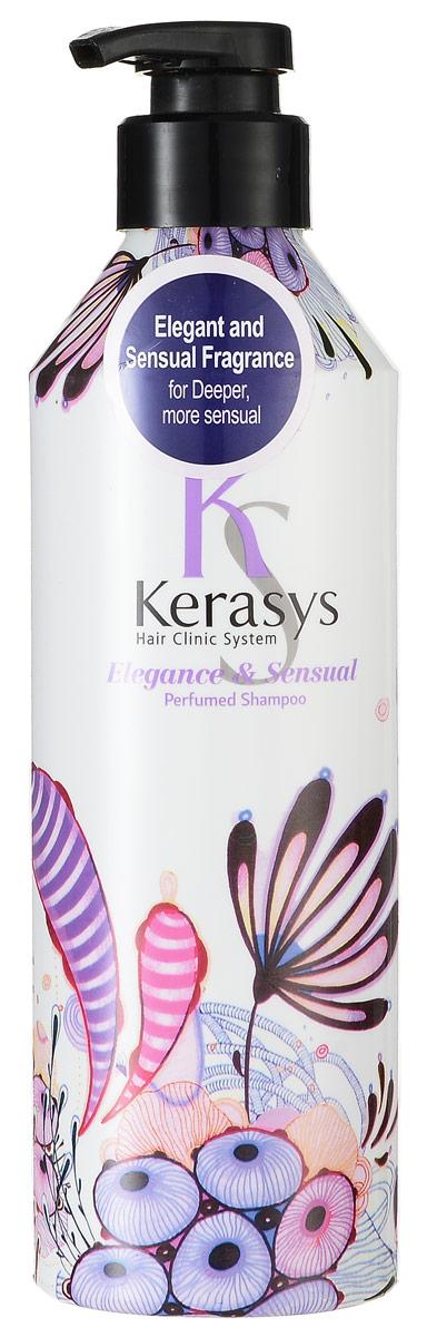 Kerasys Шампунь для волос Perfumed. Элеганс, 600 мл992715Специально разработанная формула для тонких и ослабленных волос укрепляет и восстанавливает структуру волос по всей длине. Волосы обретают жизненную силу, эластичность и объем. Содержит витамины А и Е, масло оливы и масло ши. Аромат: изысканный и грациозный, с нотками лилового цвета для современной и утонченной натуры. Подчеркнет ваш стиль и элегантность. Парфюмерная композиция: Начальная нота: цветы яблони, ирис. Средняя нота: тубероза, иланг-иланг, фиалка, гиацинт. Нижняя нота: сандал, рисовая мука, мускус. Характеристики: Объем: 600 мл. Артикул: 992715. Производитель: Корея. Товар сертифицирован.