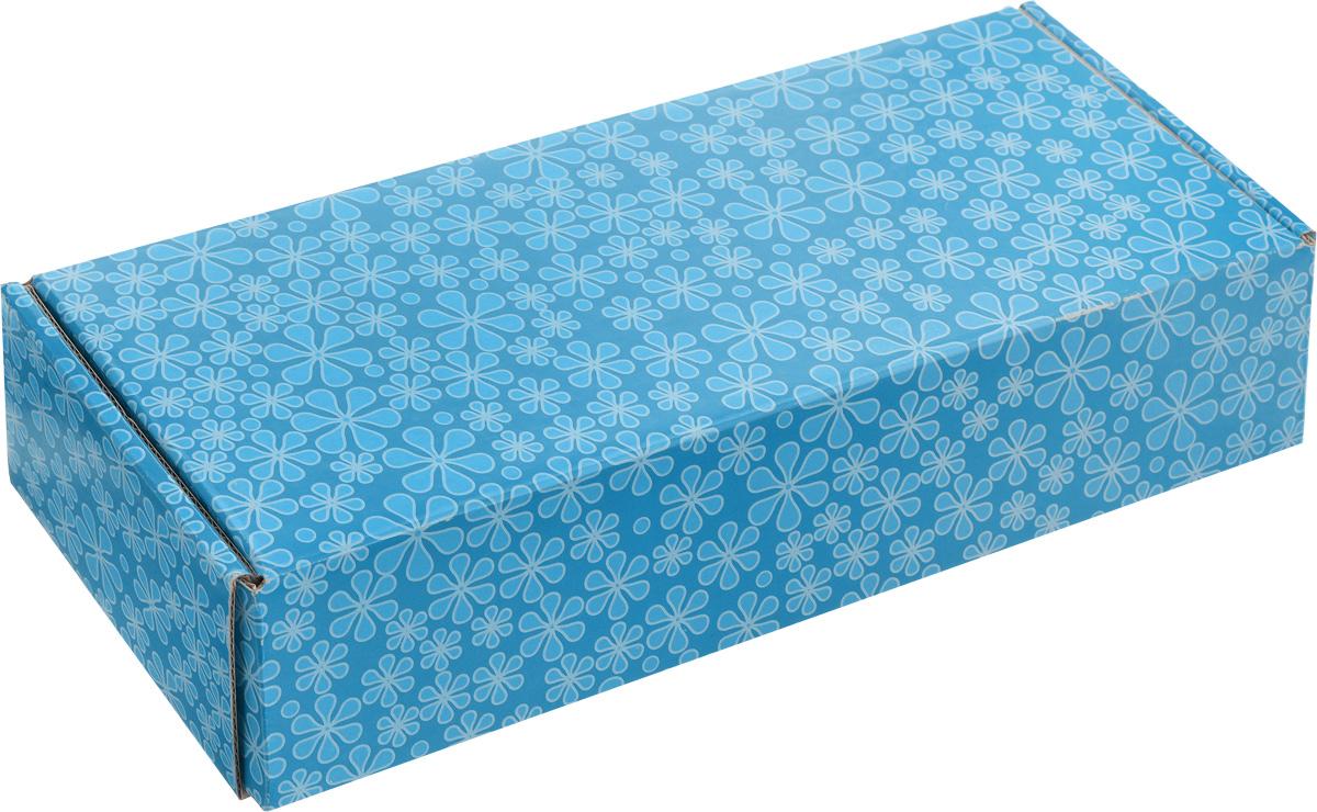 Коробка для хранения органайзера Pako, 28 х 11 х 6 см700-701Коробка для хранения органайзера Pako выполнена из плотного картона. Внутри коробки имеется одно вместительное отделение. Крышка изделия удобно открывается и закрывается. Коробка для хранения органайзера Pako станет незаменимой помощницей в путешествиях.