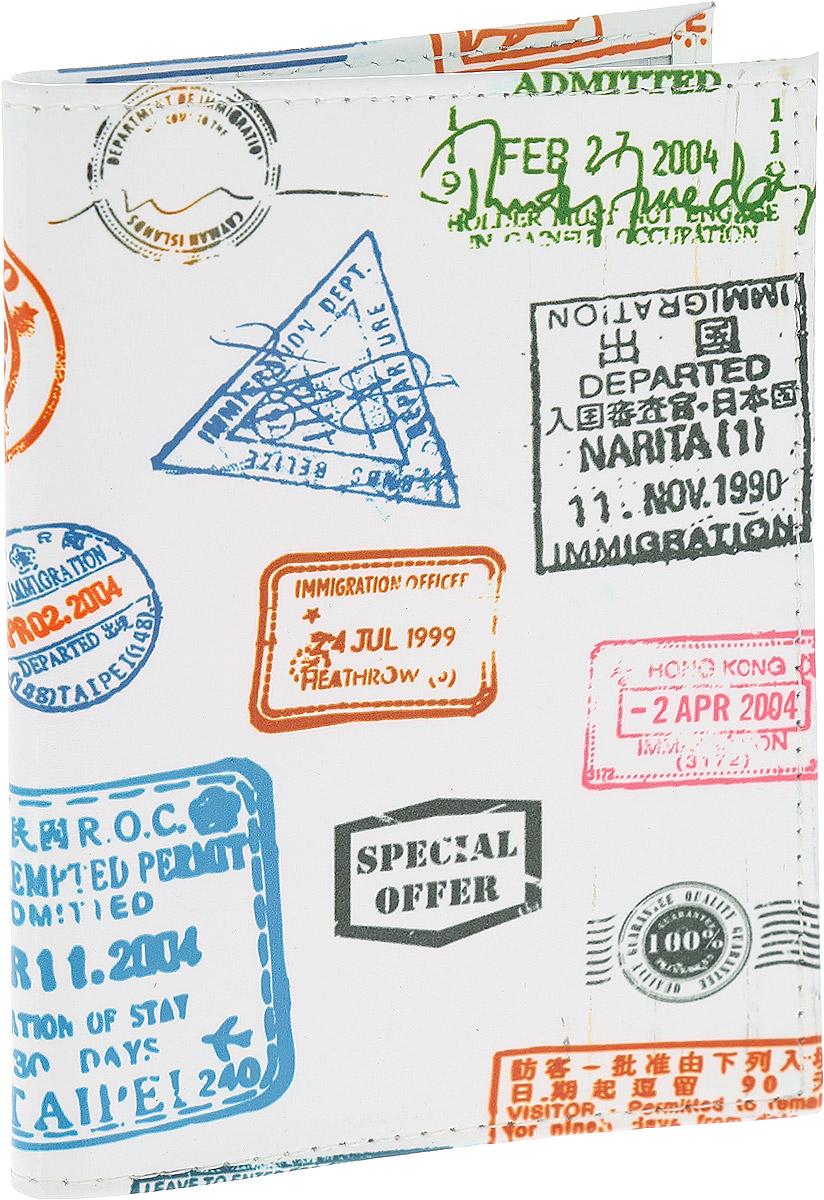 Обложка для паспорта Driver, цвет: белый, мультиколор. ВДОПК4ВДОПК4Обложка для паспорта Driver изготовлена из 100% натуральной кожи высокого качества и имеет эксклюзивный яркий дизайн. Рисунок нанесен эко-красителем и гипоаллергенен. Документ надежно фиксируются внутри при помощи двух прозрачных клапанов, расположенных на внутреннем развороте обложки. Также внутри находятся два клапана для SIM-карт и один клапан для банковской карты. Обложка оформлена красочным узором с надписями. Необычные обложки для паспорта - это прекрасный способ поднять настроение не только себе, но и окружающим людям. Забавные рисунки и весёлые надписи непременно вызовут улыбку у каждого, кто увидит ваши документы. Также это прекрасный способ сделать оригинальный подарок, подобрав обложку, которая идеально подходит тому или иному человеку. Для тех, кто любит все необычное и болеет творчеством, креативом и позитивом!