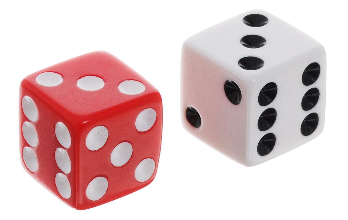 Koplow Games Набор игральных костей Простые D6 цвет белый красный 2 шт2000_белый, красныйНабор игральных костей Koplow Games Простые D6 предназначен для настольных игр. Набор состоит из двух шестигранных костей. На каждую грань игральной кости нанесены в виде точек числа от 1 до 6. Целью игральной кости является демонстрация случайно определенного числа, каждое из которых является равновозможным благодаря правильной геометрической форме. Игральные кости выполнены из прочного пластика.