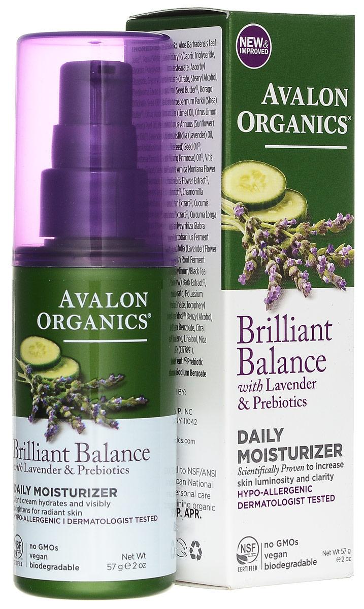 Avalon Organics Крем дневной Lavender Luminosity для лица, увлажняющий, 57 млAV35310Гипоаллергенный, очень легкий, невесомый крем Lavender Luminosity моментально наполняет кожу жизненной влагой, глубоко увлажняет, питает и эффективно поддерживает красивый, ровный, сияющий цвет и тон кожи. Быстро устраняет сухость и шелушения, способствует поддержанию гладкости, эластичности и нежности рельефа кожи на долгое время. При ежедневном применении заметно повышает упругость кожи, осветляет пигментные пятна и омолаживает кожу. Способ применения: наносить ежедневно утром и вечером на очищенную кожу. Для более эффективного воздействия можно использовать после Лавандовой обновляющей сыворотки и сочетать с ночным восставливающим кремом Lavender Luminosity.