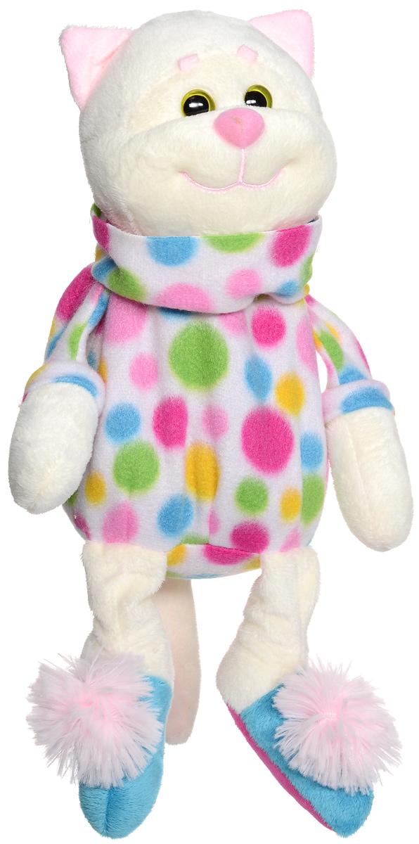 Мягкая игрушка-грелка Fancy КотикKCD0GМягкая игрушка-грелка Fancy Котик, предназначенная для тепловых процедур, обязательно поднимет настроение своему обладателю. Чехол грелки выполнен в виде симпатичного мягкого котика, который привлечет внимание ребенка и сделает процесс использования грелки приятным и комфортным. Глазки у котика пластиковые, на ножках имеется нежно-розовый пушок. Игрушка-грелка содержит натуральный наполнитель - зерна проса, которые быстро нагреваются и долго удерживают тепло. Необходимо разогреть мешочек с наполнителем в микроволновой печи и вложить в игрушку. А если положить мешочек в морозилку на некоторое время, а потом поместить в котика, то в жаркий день игрушка будет приятно прохладной. Чехол закрывается на застежку-молнию, также на чехле предусмотрена специальная петля для подвешивания. Оригинальный стиль и великолепное качество исполнения делают эту игрушку-грелку чудесным подарком к любому празднику.