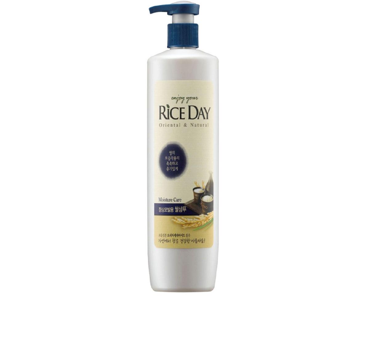 CJ Lion Шампунь для нормальных волос Riceday 550 г604129Увлажняющий шампунь для волос нормального типа с экстрактами рисовых отрубей, портулака огородного и керамидами. • Проникая в волос, керамиды заполняют пространство в наружном слое кутикул, предохраняя волосы от ломкости и придавая им блеск и ухоженный вид • Масло рисовых отрубей глубоко увлажняет и питает волосы, защищает от воздействия УФ-лучей, предотвращает преждевременное выпадение волос и способствует их росту • Экстракт портулака огородного защищает волосы от агрессивного внешнего воздействия окружающей среды, помогает волосам сохранять естественный блеск.