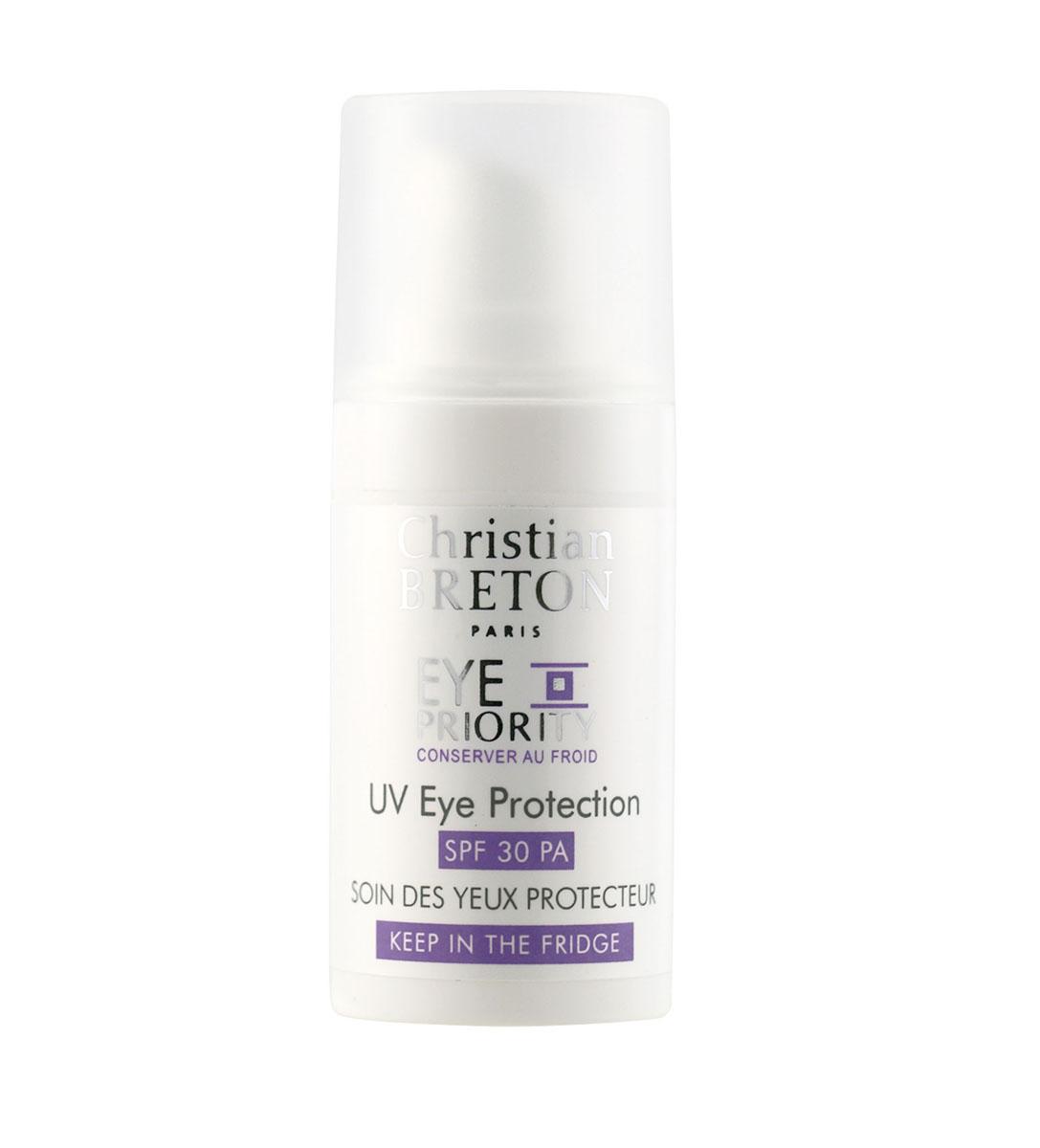 Christian Breton Крем защитный для кожи вокруг глаз SPF30 15 мл481109Специально разработанный крем для кожи вокруг глаз с превосходной защитой от солнечного излучения. Крем подтягивает кожу и разглаживает морщинки, блокирует негативные факторы окружающей среды и препятствует фотостарению.