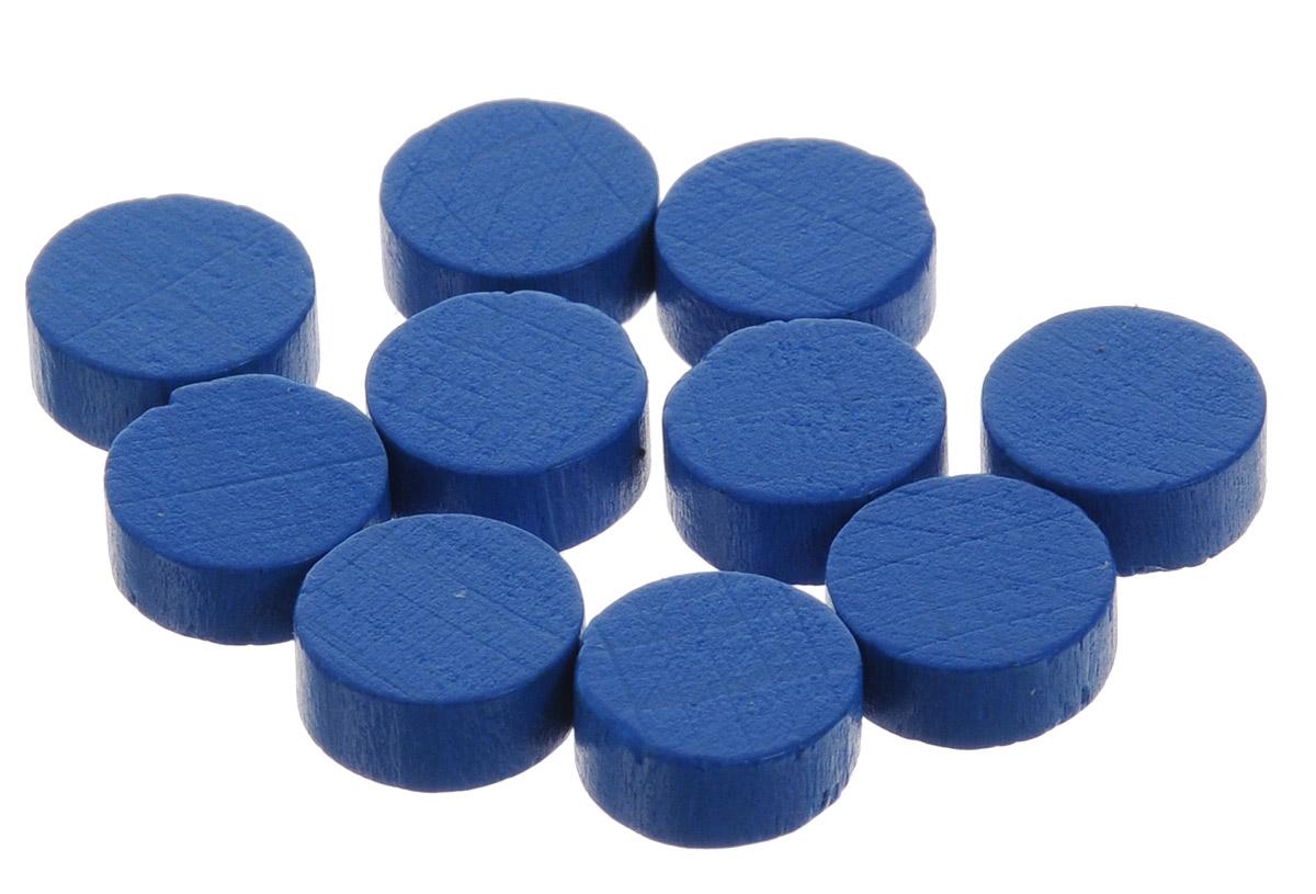 Pandora's Box Набор фишек Эко-стиль диаметр 10 мм цвет синий 10 шт
