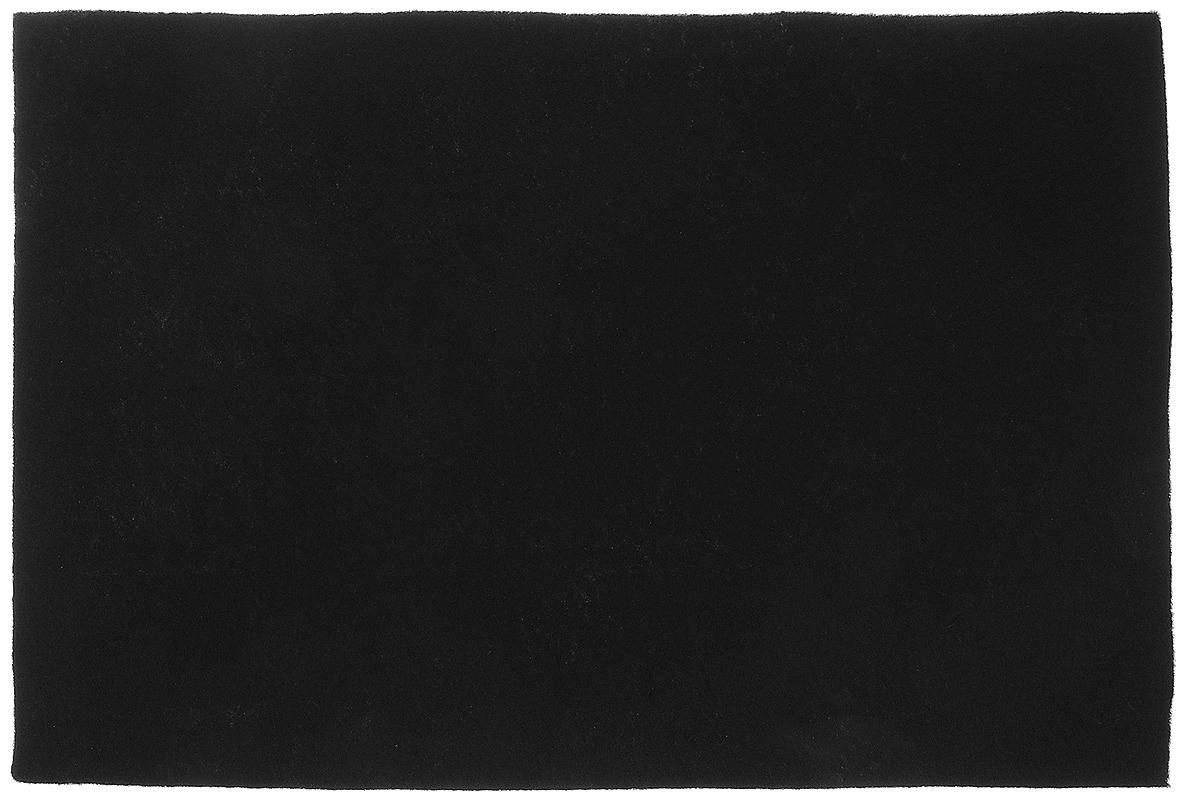 Фетр Hobby&You, цвет: черный, 20 х 30 смHY2801085_1Фетр Hobby&You изготовлен из 100% полиэстера. Лист фетра можно использовать целиком или вырезать из него различные фигуры. Работать с фетром просто и удобно: он легко режется, не осыпаясь по краям, из него получаются отличные аппликации. Фетр используется для изготовления открыток ручной работы и скрап- страничек, для создания бижутерии и аксессуаров для волос, для декора мебели, изготовления ковриков, диванных подушек, подставок под горячее, сумок и многого другого. Толщина: 1,4 мм. Размер листа: 20 х 30 см.