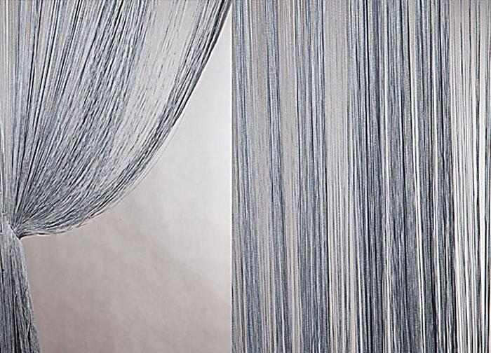 Штора нитяная Magnolia Кисея, цвет: серый, высота 300 см. XLF DS 0754647Декоративная нитяная штора для дизайнерских решений в вашем доме. Подходит как для зонирования пространства, а так же декорации окна, как самостоятельное решение или дополнение к шторам.