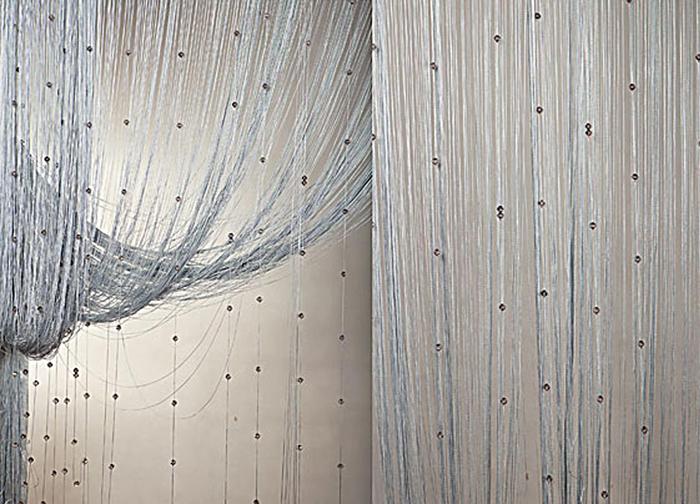 Штора нитяная Magnolia Кисея, цвет: серый, высота 300 см. XLF SJ 0754682Декоративная нитяная штора для дизайнерских решений в вашем доме. Подходит как для зонирования пространства, а так же декорации окна, как самостоятельное решение или дополнение к шторам.
