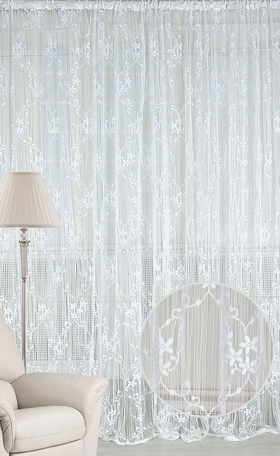 Штора нитяная Magnolia Кисея, цвет: белая, высота 250 см. CQ M 90008(01)68583Декоративная нитяная штора для дизайнерских решений в вашем доме. Подходит как для зонирования пространства, а так же декорации окна, как самостоятельное решение или дополнение к шторам.