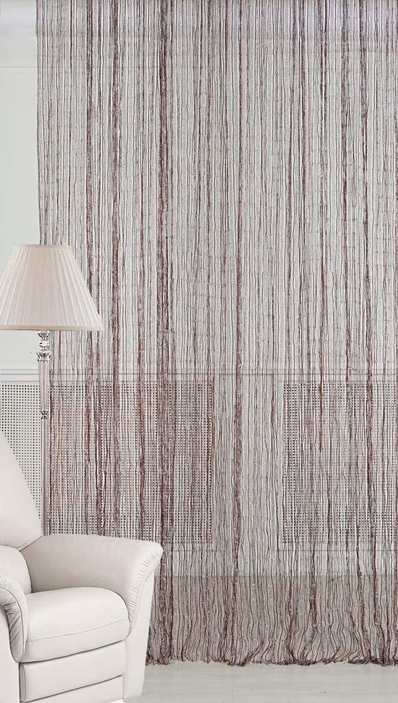 Штора нитяная Magnolia Кисея, цвет: серебро, высота 300 см. XLF JW-9808-868592Декоративная нитяная штора для дизайнерских решений в вашем доме. Подходит как для зонирования пространства, а так же декорации окна, как самостоятельное решение или дополнение к шторам.