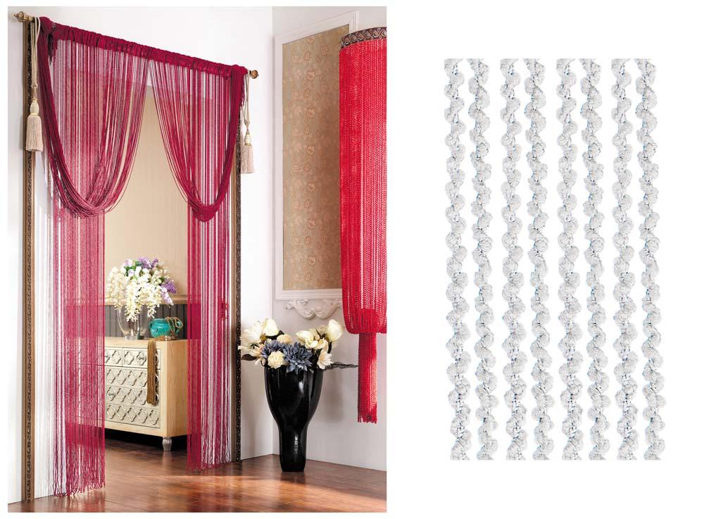 Штора нитяная Magnolia Кисея, цвет: белый, высота 290 см. CQ X055-173624Декоративная нитяная штора для дизайнерских решений в вашем доме. Подходит как для зонирования пространства, а так же декорации окна, как самостоятельное решение или дополнение к шторам.