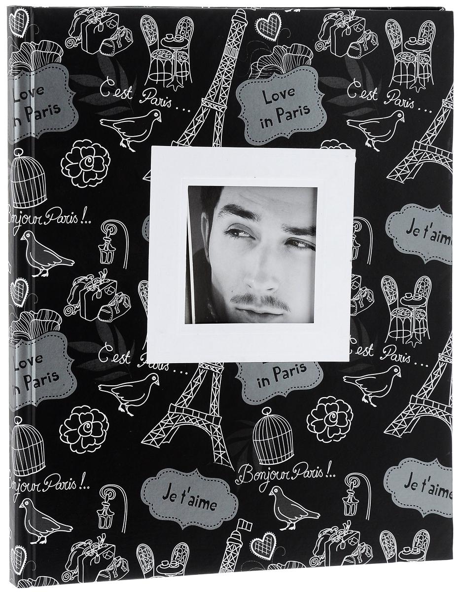 """Фотоальбом """"Pioneer"""", 10 магнитных листов, цвет: черный, белый, 26 x 32 см. 21158 LM-SA10BB/C 21158 LM-SA10BB/C_черный, белый"""
