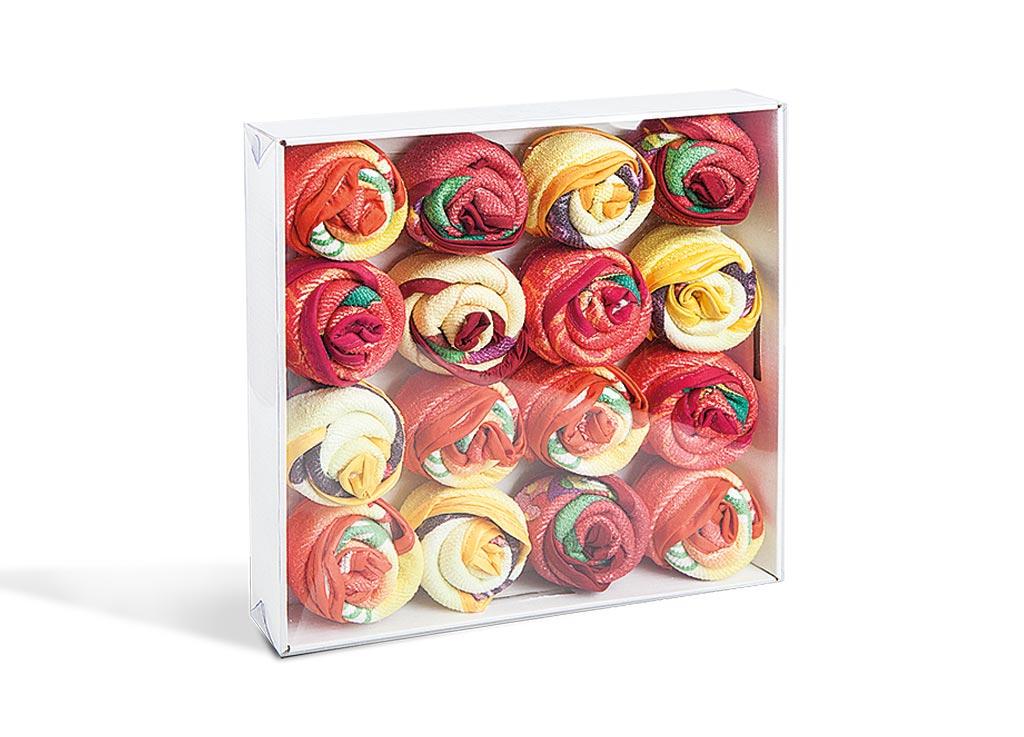 Комплект салфеток Soavita, 30х30 см, 16 шт, цвет: мультиколор70717Перед использованием постирать при температуре не выше 40 градусов