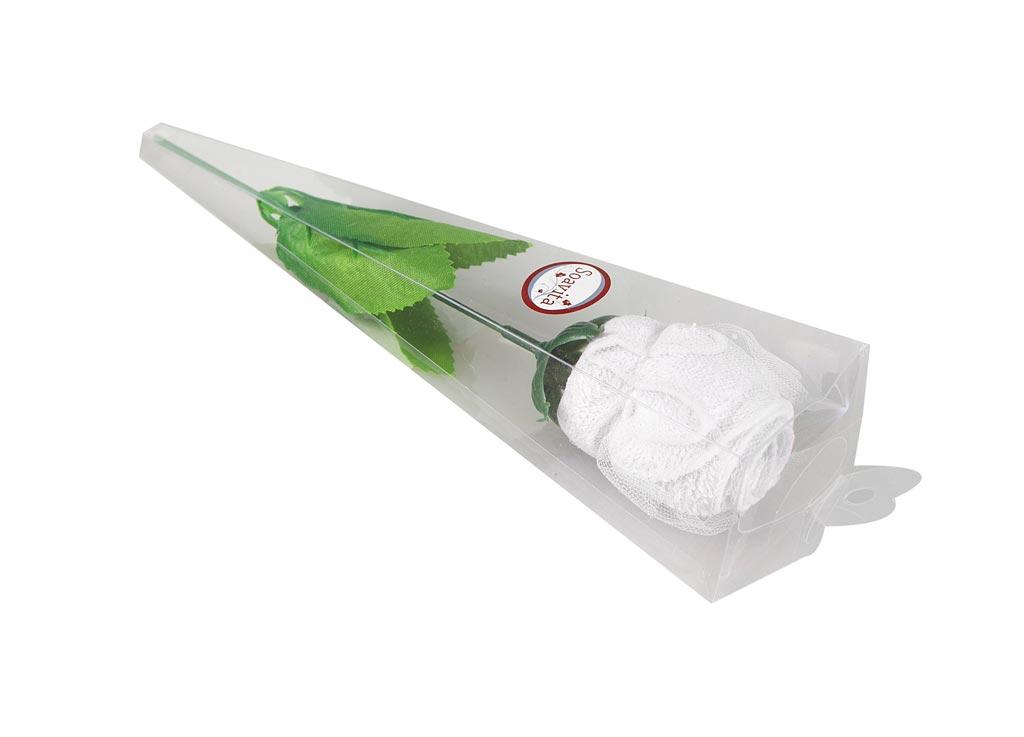 Салфетка кухонная Soavita Роза, цвет: белый, 20 х 20 см74780Кухонная салфетка Soavita Роза выполнена из высококачественного 100% хлопка. Идеально подходит для сухой и влажной чистки. Полностью удаляет воду, не оставляя следа. В сухом виде подходит для деликатных поверхностей: стекол, зеркал, оптики, мониторов, мебели, бытовой техники и многого другого. Во влажном виде незаменима на кухне, в ванной, в уходе за автомобилем. Изделие упаковано в пластиковую коробку в виде изящной розы. Салфетка создаст прекрасное настроение и украсит интерьер вашей кухни, а также прекрасно подойдет в качестве приятного презента. Перед использованием постирать при температуре не выше +40°С.