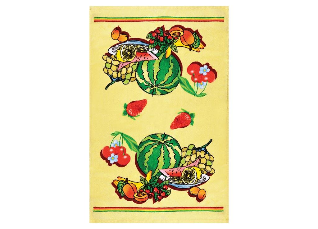 Полотенце кухонное Soavita Ягоды, 45 х 70 см87421Кухонное полотенце Soavita Ягоды выполнено из 100% хлопка и оформлено оригинальным рисунком. Оно отлично впитывает влагу, быстро сохнет, сохраняет яркость цвета и не теряет форму даже после многократных стирок. Изделие предназначено для использования на кухне и в столовой. Такое полотенце станет отличным вариантом для практичной и современной хозяйки.