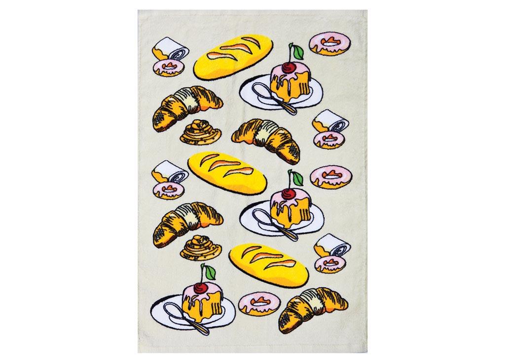 Полотенце кухонное Soavita Завтрак, 40 х 60 см87422Кухонное полотенце Soavita Завтрак выполнено из 100% хлопка и оформлено оригинальным рисунком. Оно отлично впитывает влагу, быстро сохнет, сохраняет яркость цвета и не теряет форму даже после многократных стирок. Изделие предназначено для использования на кухне и в столовой. Такое полотенце станет отличным вариантом для практичной и современной хозяйки.