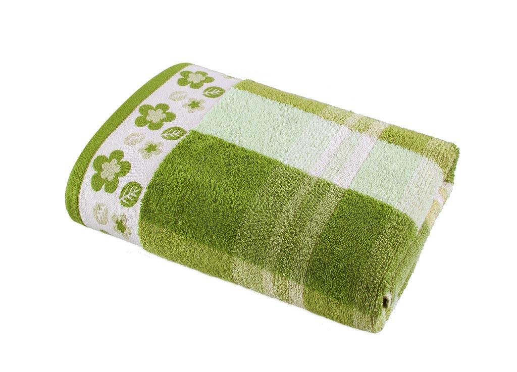 Полотенце Soavita Premium. Renata, цвет: зеленый, белый, 68 х 130 см87428Банное полотенце Soavita Premium. Renata выполнено из 100% хлопка. Изделие отлично впитывает влагу, быстро сохнет, сохраняет яркость цвета и не теряет форму даже после многократных стирок. Полотенце очень практично и неприхотливо в уходе. Оно создаст прекрасное настроение и украсит интерьер в ванной комнате.