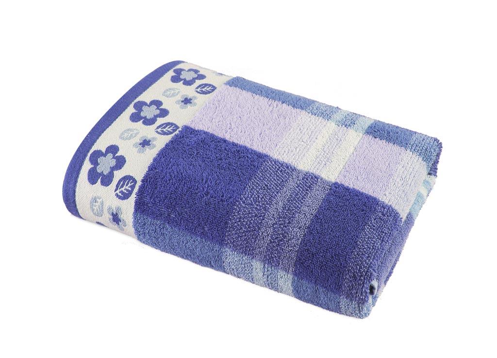 Полотенце Soavita Premium. Renata, цвет: лиловый, белый, 68 х 130 см87430Банное полотенце Soavita Premium. Renata выполнено из 100% хлопка. Изделие отлично впитывает влагу, быстро сохнет, сохраняет яркость цвета и не теряет форму даже после многократных стирок. Полотенце очень практично и неприхотливо в уходе. Оно создаст прекрасное настроение и украсит интерьер в ванной комнате.