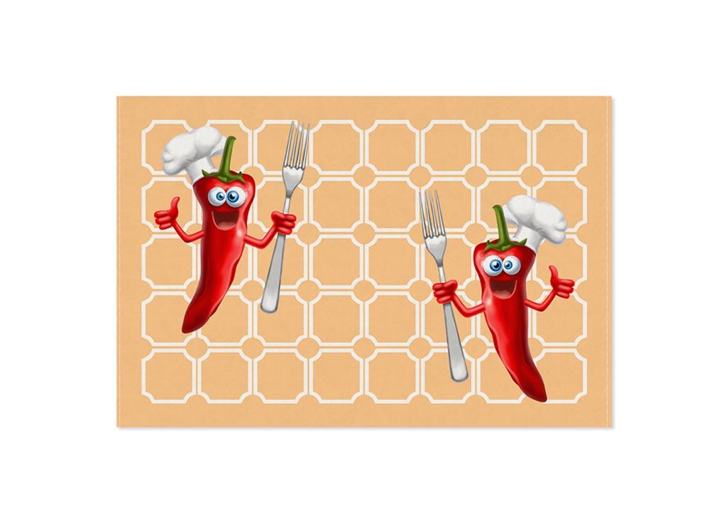 Полотенце кухонное Soavita Чили, цвет: персик, 40 х 60 см87451Кухонное полотенце Soavita Чили выполнено из хлопка. Полотенца используются для протирки различных поверхностей, также широко применяются в быту. Перед использованием постирать при температуре не выше 40 градусов.