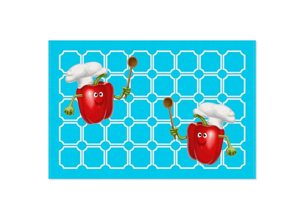 Полотенце кухонное Soavita Паприка, 40 х 60 см87452Кухонное полотенце Soavita Паприка, выполненное из 100% хлопка, оформлено оригинальным рисунком. Изделие предназначено для использования на кухне и в столовой. Такое полотенце станет отличным вариантом для практичной и современной хозяйки. Рекомендуется стирка при температуре 40°C.