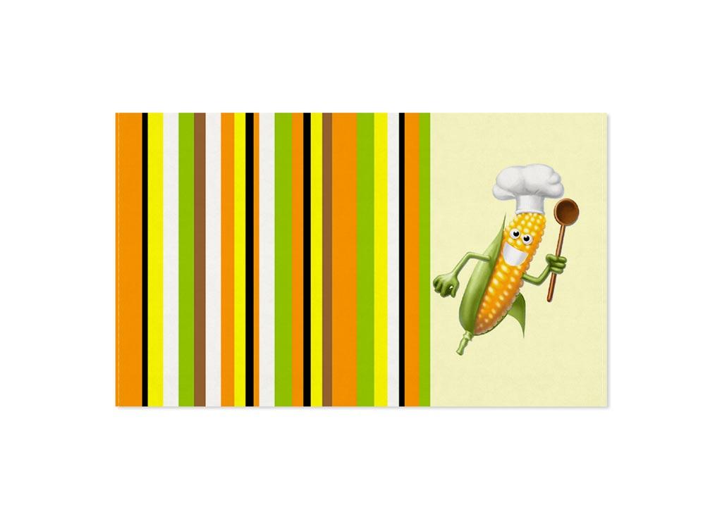 Полотенце кухонное Soavita Кукуруза, 30 х 50 см87468Кухонное полотенце Soavita Кукуруза выполнено из 100% хлопка и оформлено оригинальным рисунком. Оно отлично впитывает влагу, быстро сохнет, сохраняет яркость цвета и не теряет форму даже после многократных стирок. Изделие предназначено для использования на кухне и в столовой. Такое полотенце станет отличным вариантом для практичной и современной хозяйки.