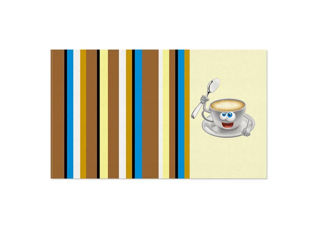 Полотенце Soavita Кофе, 30х50 см, цвет: кремовый, бежевый87469Перед использованием постирать при температуре не выше 40 градусов
