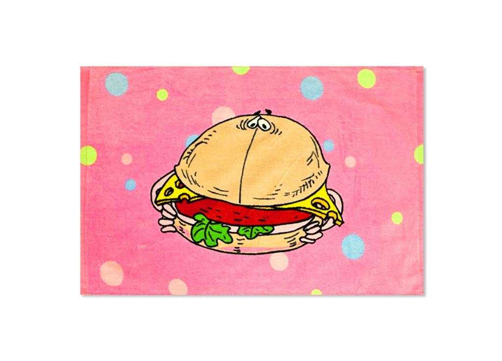 Полотенце кухонное Soavita Гамбургер, 40 х 60 см87532Кухонное полотенце Soavita Гамбургер, выполненное из 100% хлопка, оформлено оригинальным рисунком. Изделие предназначено для использования на кухне и в столовой. Такое полотенце станет отличным вариантом для практичной и современной хозяйки. Рекомендуется стирка при температуре 40°C.