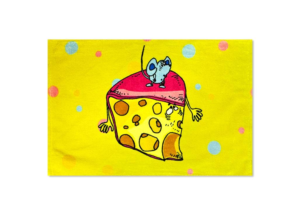 Полотенце кухонное Soavita Сыр, 40 х 60 см87534Кухонное полотенце Soavita Сыр, выполненное из 100% хлопка, оформлено ярким рисунком. Изделие предназначено для использования на кухне и в столовой. Такое полотенце станет отличным вариантом для практичной и современной хозяйки. Рекомендуется стирка при температуре 40°C.
