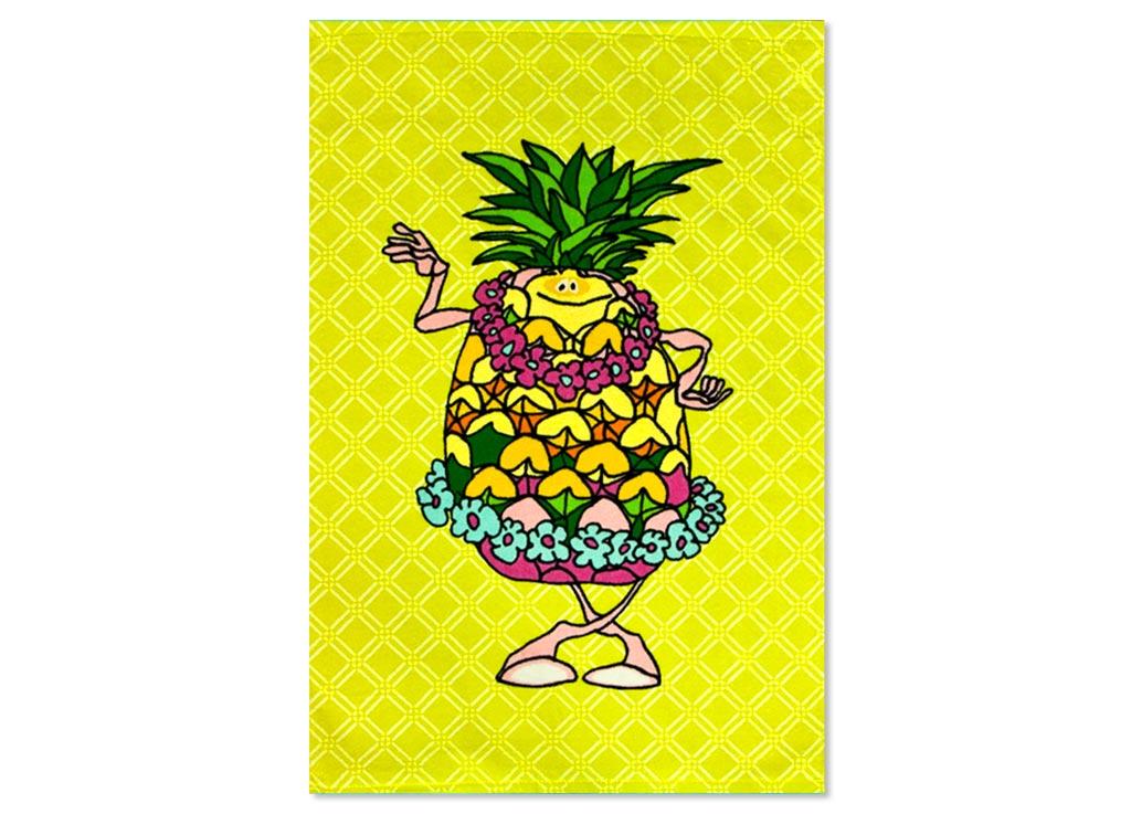 Полотенце Soavita Ананас, 40х60 см, цвет: желтый87536Перед использованием постирать при температуре не выше 40 градусов