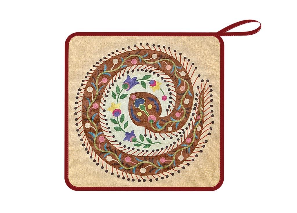 Салфетка Soavita, 30х30 см, цвет: бежевый. 8756987569Перед использованием постирать при температуре не выше 40 градусов